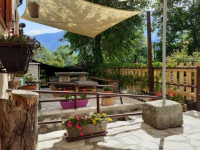 Esterno 2 bed breakfast-casa vacanze montagna abruzzo lubrihande